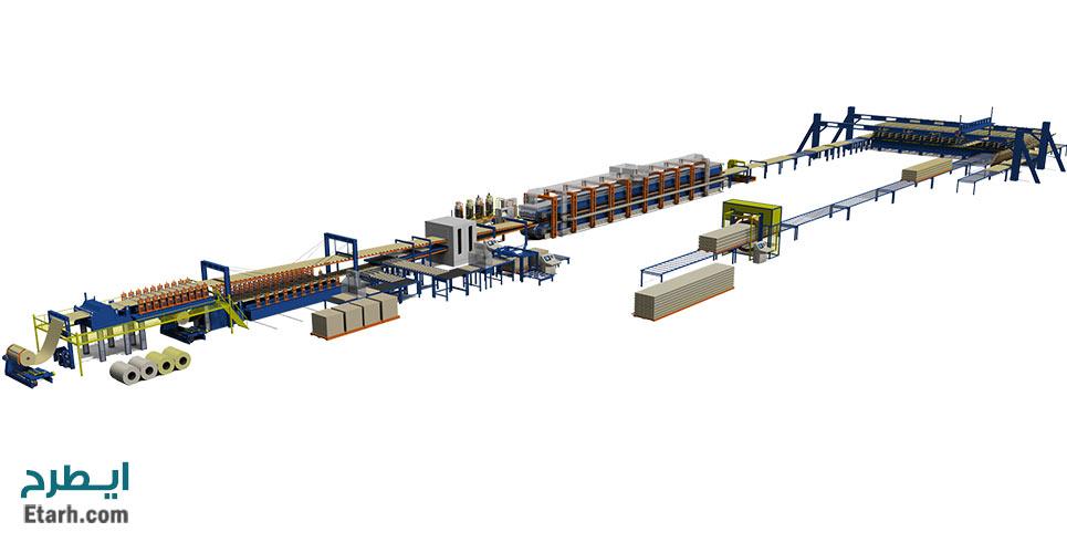 طرح تولید پانل سبک ساختمانی