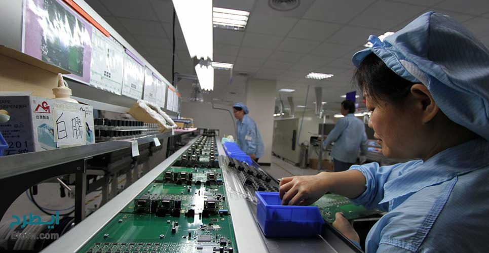 خط تولید PCB چند لایه