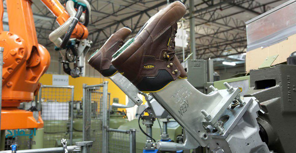 طرح تولید کفش ایمنی