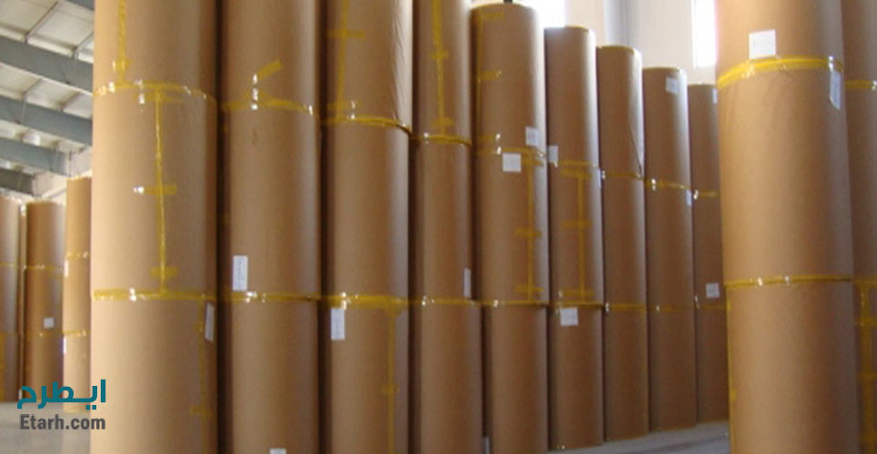 طرح تولید انواع کاغذ تایپ لاینر و وایت تاپ