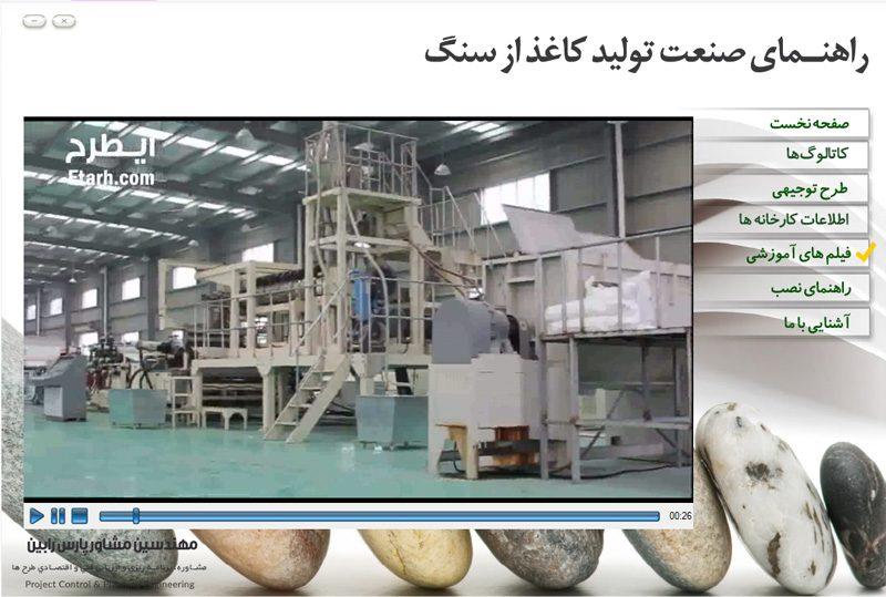 راهنمای صنایع تولید کاغذ از سنگ آهک