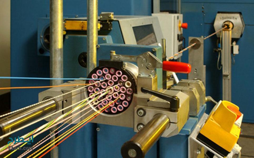 طرح تولید فیبر نوری (4)