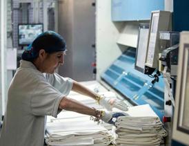 احداث واحد تولید البسه و منسوجات یکبار مصرف بیمارستان و هتل