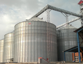 انبارداری و نگهداری محصولات کشاورزی در سیلو
