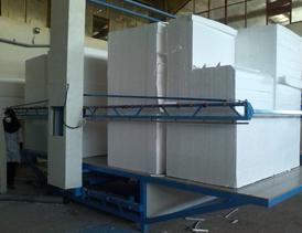 احداث واحد تولید فوم پلی استایرن ضد آتش بلوک های ساختمانی
