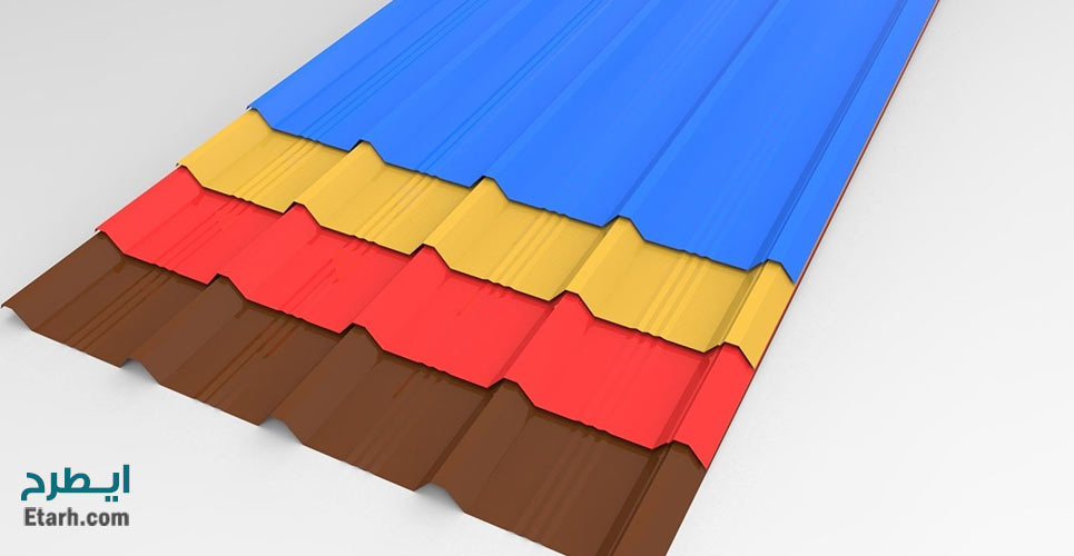 طرح تولید ورق رنگی