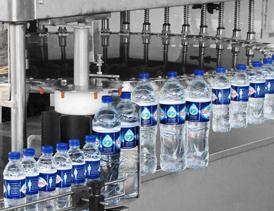 احداث واحد تولید و بسته بندی آب معدنی