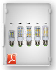 طرح توجیهی تیپ تولید لامپ LED فوق کم مصرف