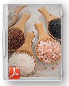 طرح توجیهی تیپ تولید نمک های غذائی طعم دار
