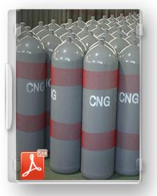 طرح تیپ تولید مخازن CNG