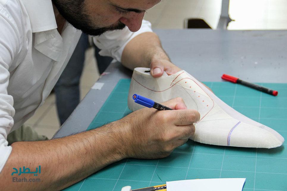 فرآیند تولید کفش
