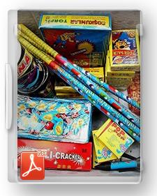 طرح توجیهی تیپ تولید انواع وسائل آتش بازی