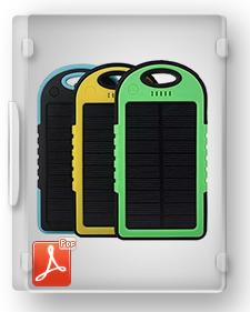 طرح توجیهی تیپ تولید باتري شارژي خورشیدي تلفن همراه