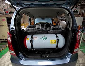 فرآیند توليد مخازن (Compressed Natural Gas) CNG