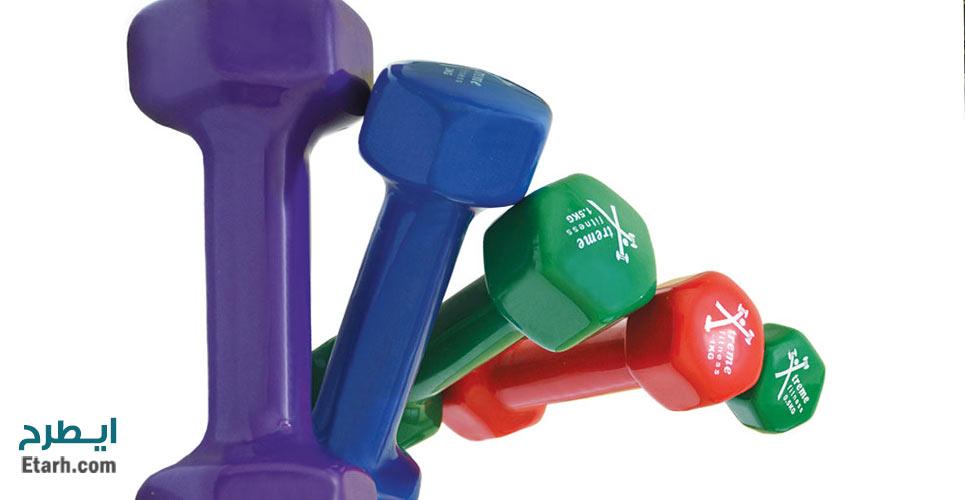 طرح تولید روکش وزنههای ورزشی
