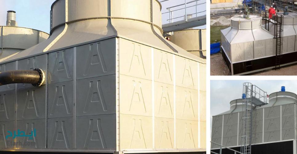 طرح تولید برجهای خنک کننده فایبرگلاس