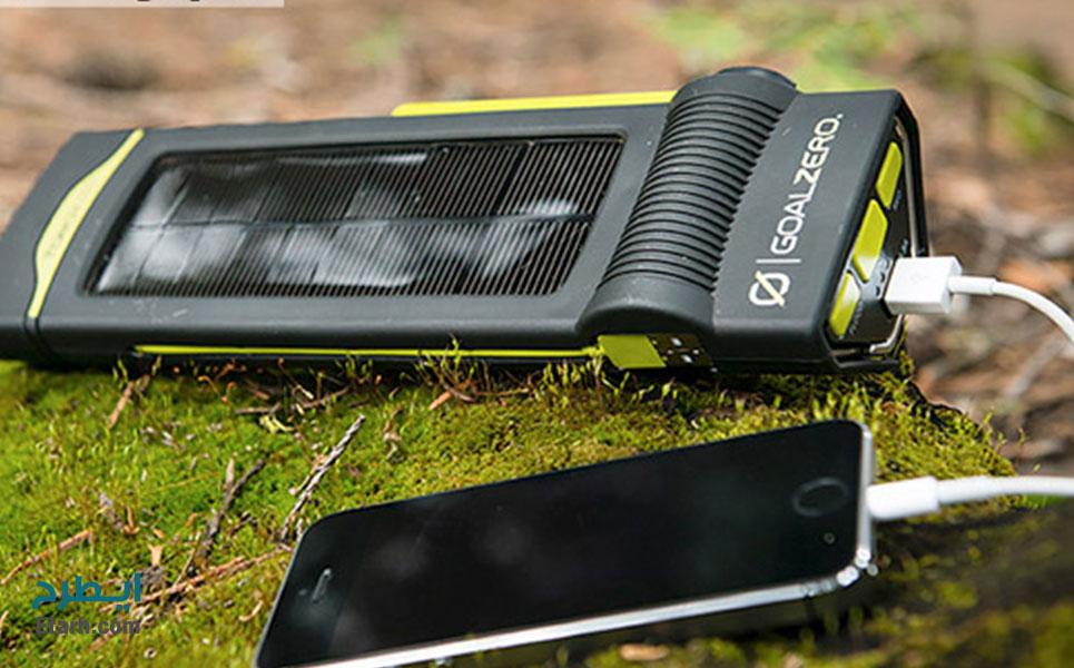 طرح تولید باتری شارژی خورشیدی تلفن همراه (1)