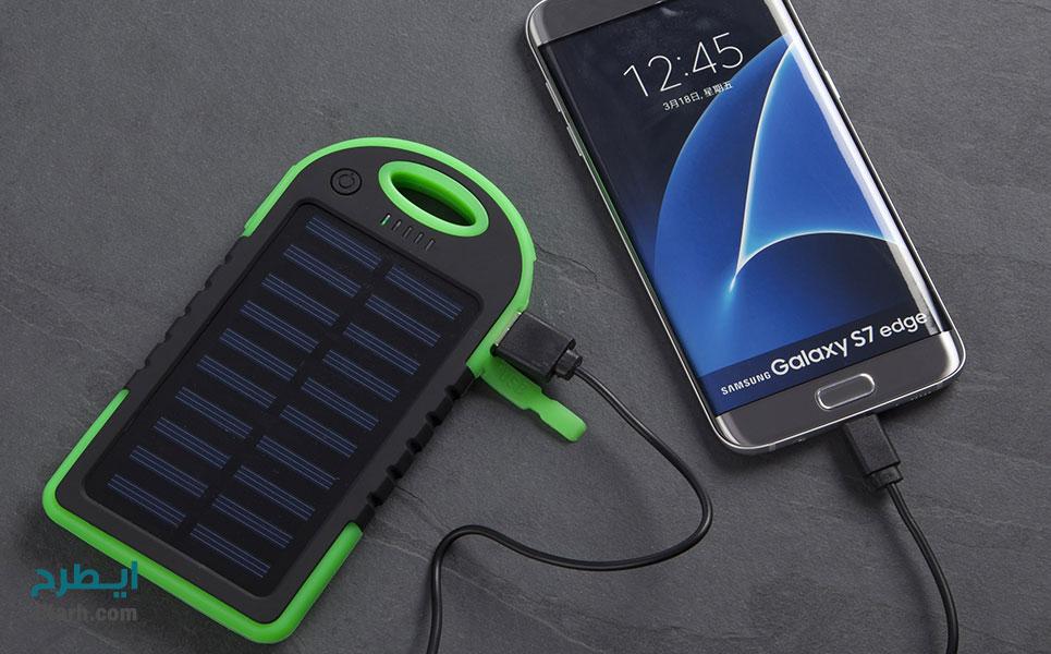 طرح تولید باتری شارژی خورشیدی تلفن همراه (2)