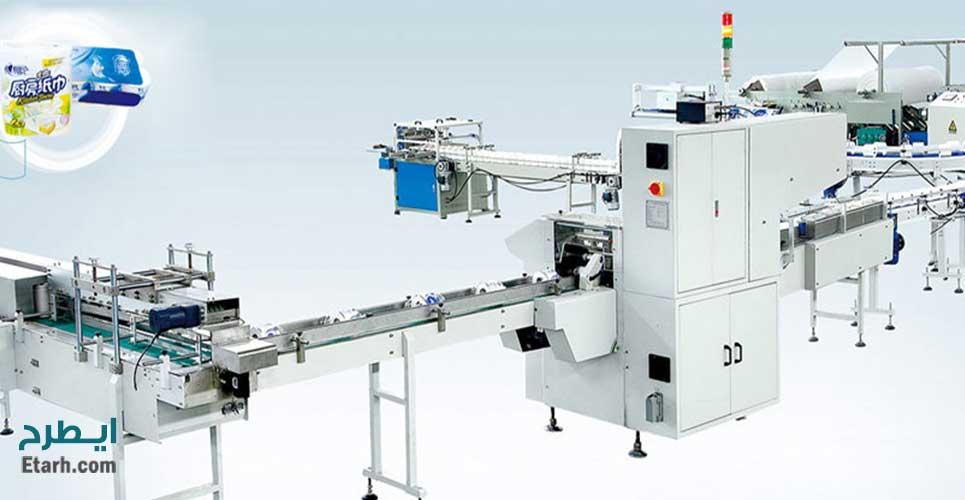 فرایندتولید-دستمال-کاغذی