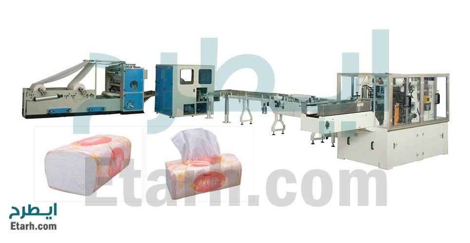خط تولید دستمال کاغذی