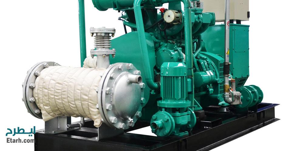 طرح تولید مولدهای ترکیبی تولید برق و حرارت