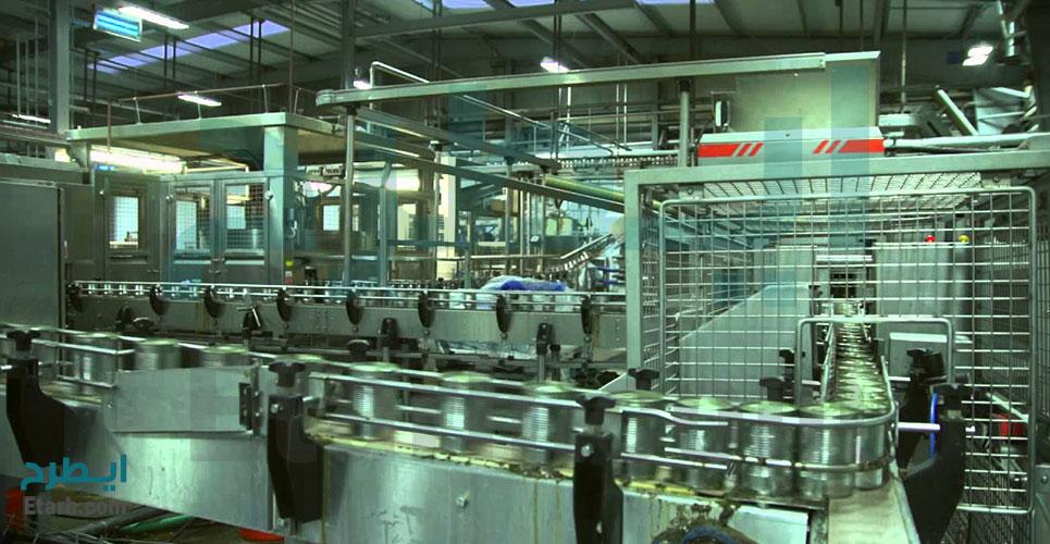 خط تولید قوطی های کنسرو
