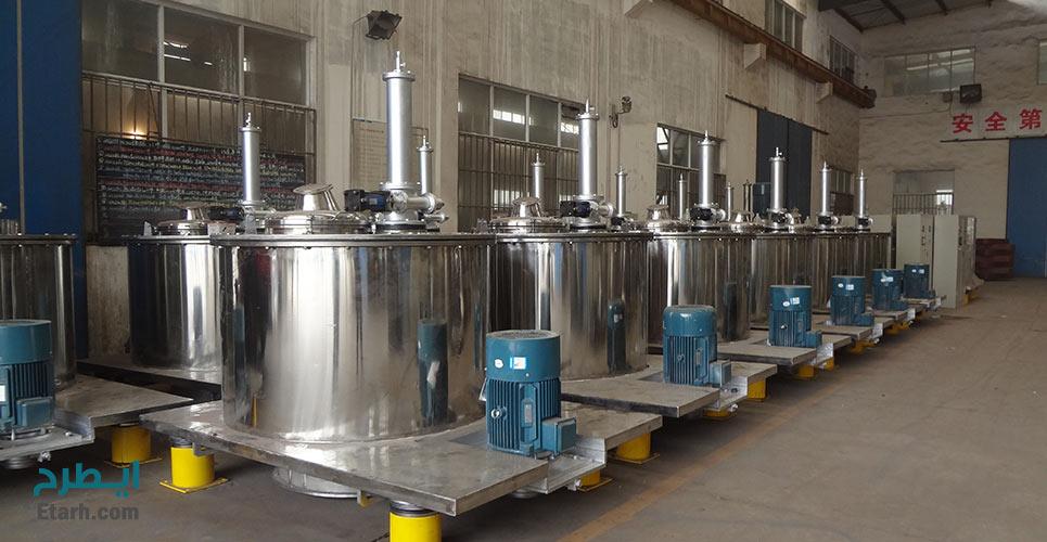 طرح تولید دستگاه سانتريفيوژ صنايع غذايی