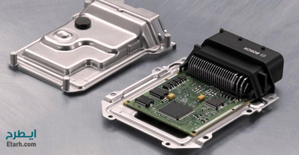 طرح تولید جعبه کنترل الکترونیکی خودرو