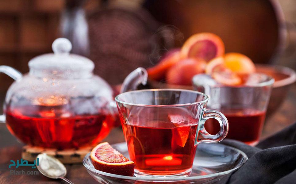 طرح تولید کافئین از ضایعات چای (2)