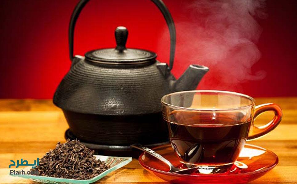 طرح تولید کافئین از ضایعات چای (4)