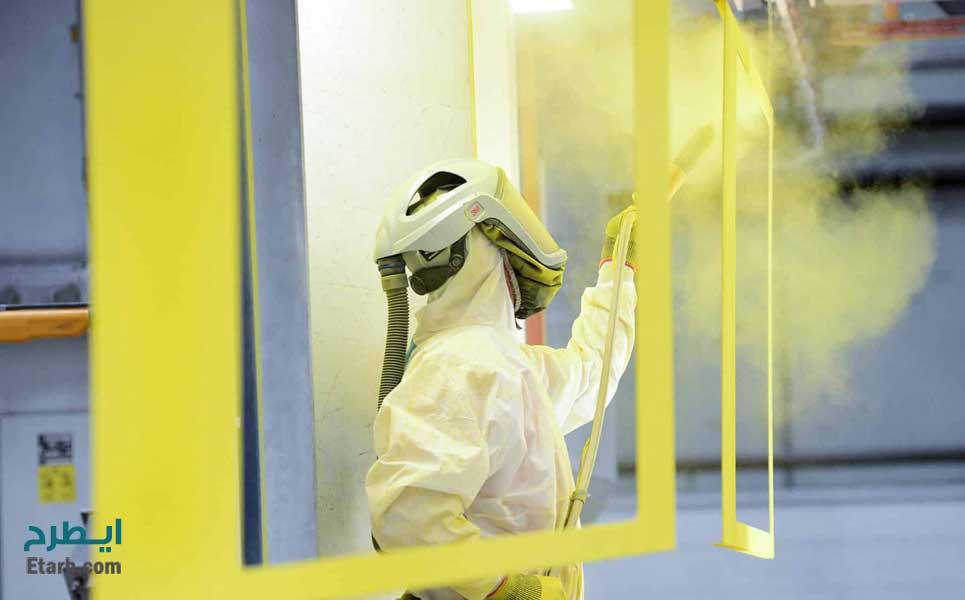 طرح تولید مواد اولیه رنگ پودری الکترواستاتیک