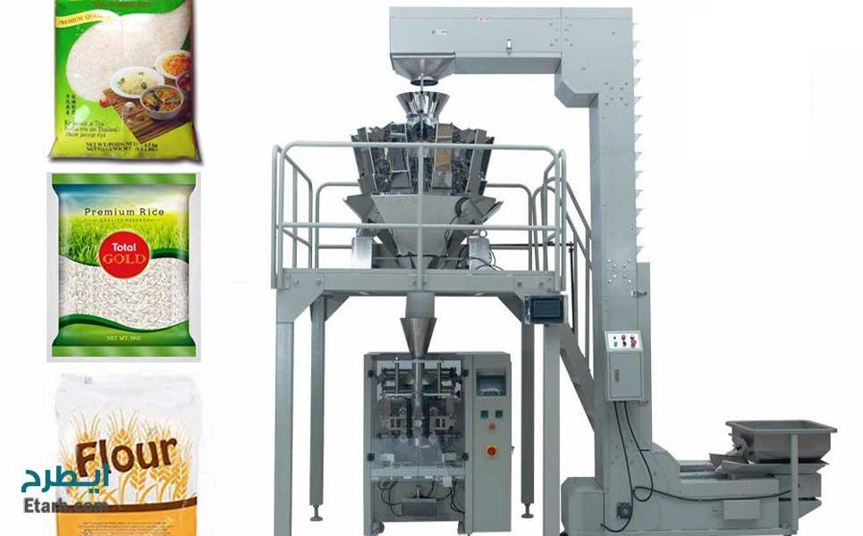 خط تولید برنج سنتزی (صنعتی)