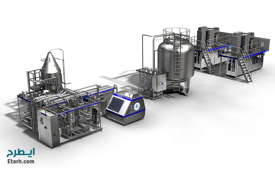 فرآیند تولید شیر سویا