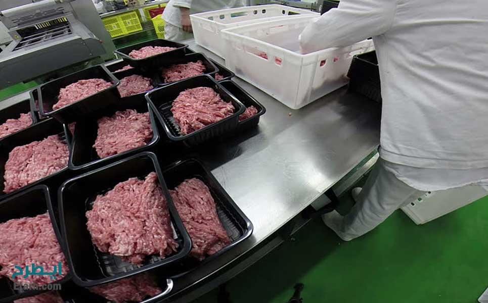 خط بسته بندی گوشت،مرغ و ماهی