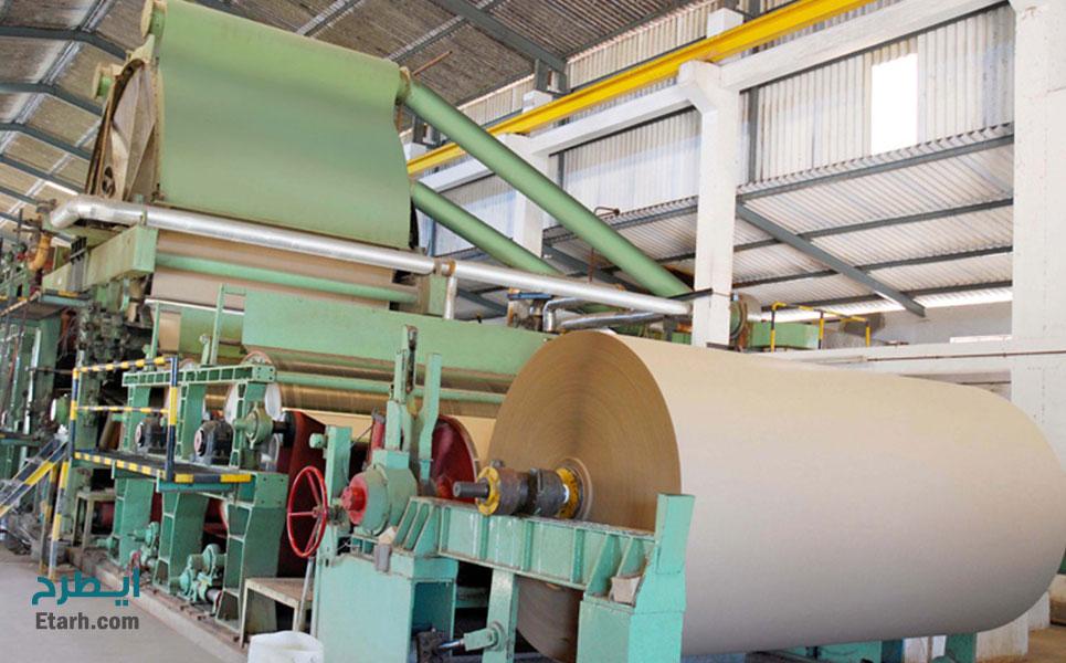 طرح-تولید-کاغذ-و-مقوای-کرافت-لاینر-قهوه-ای-و-گلاسه-1