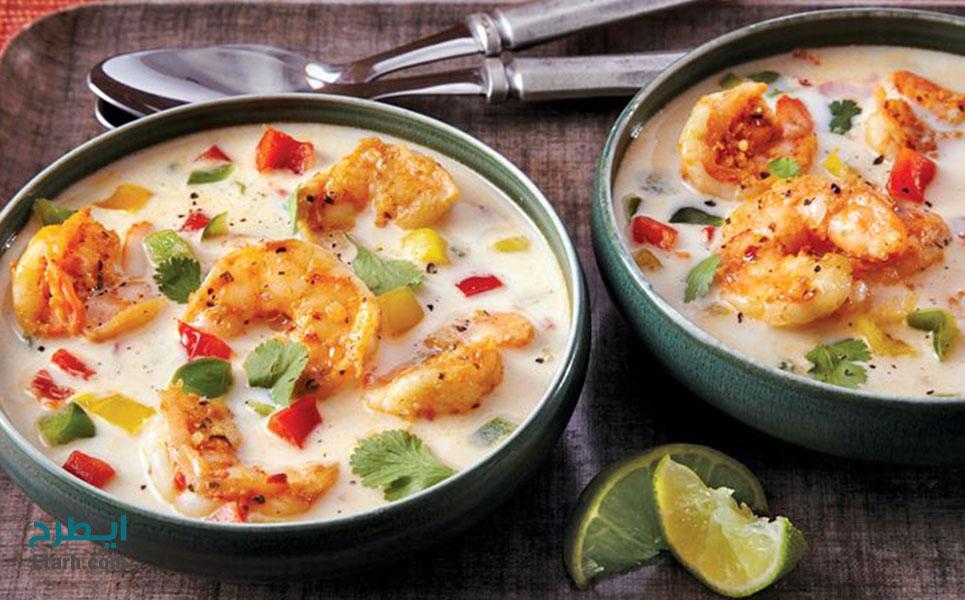 طرح تولید سوپ میگو (1)