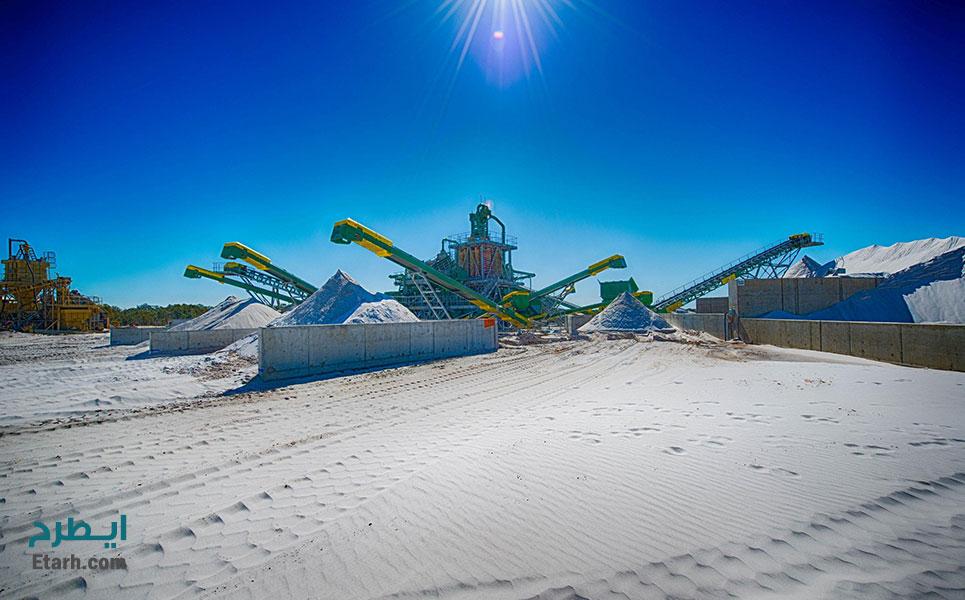 طرح احداث و بهره برداری معدن سنگ سیلیس (2)
