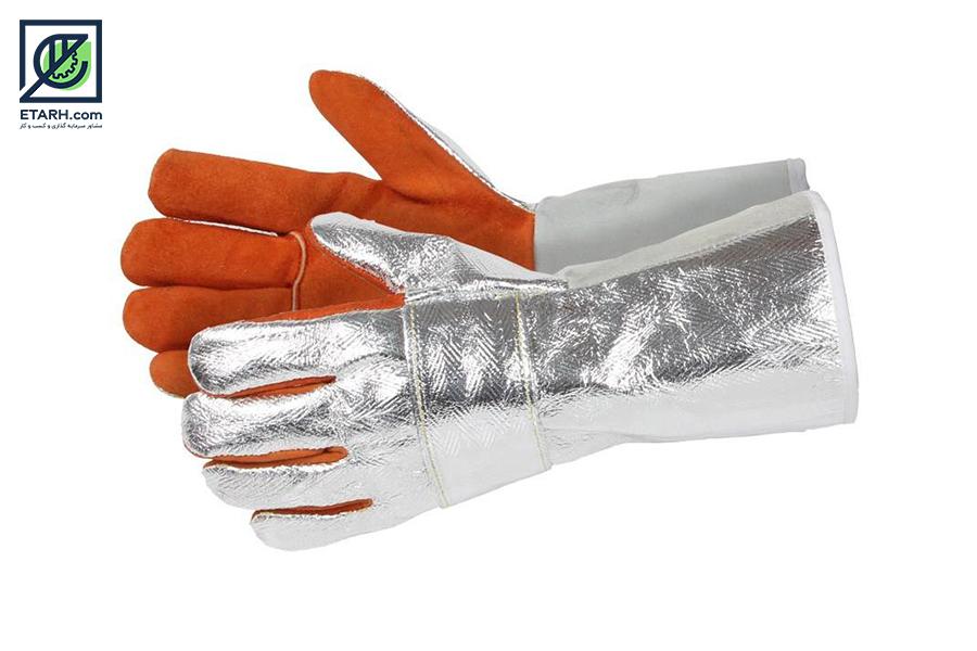 تولید دستکش عایق برق