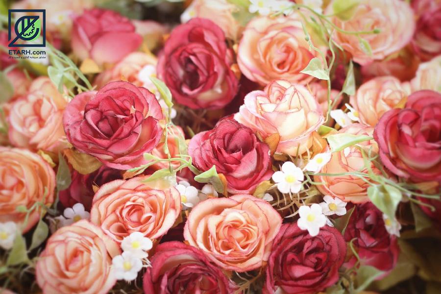 طرح تولید انواع گل مصنوعی